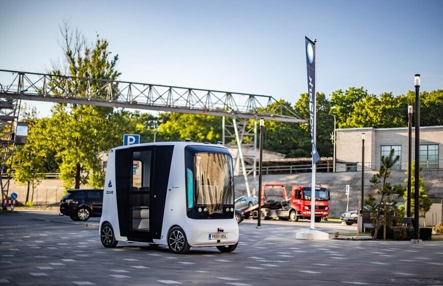 В Эстонии запустят первые в мире беспилотные микроавтобусы на водородном топливе
