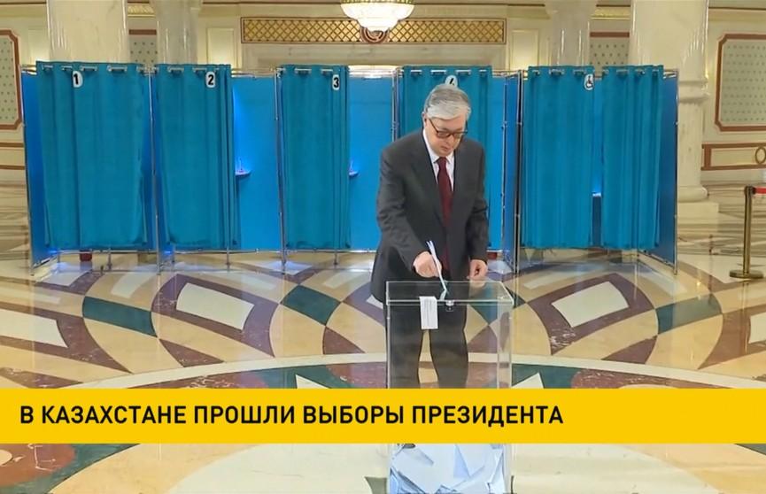 На выборах президента Казахстана побеждает Касым-Жомарт Токаев