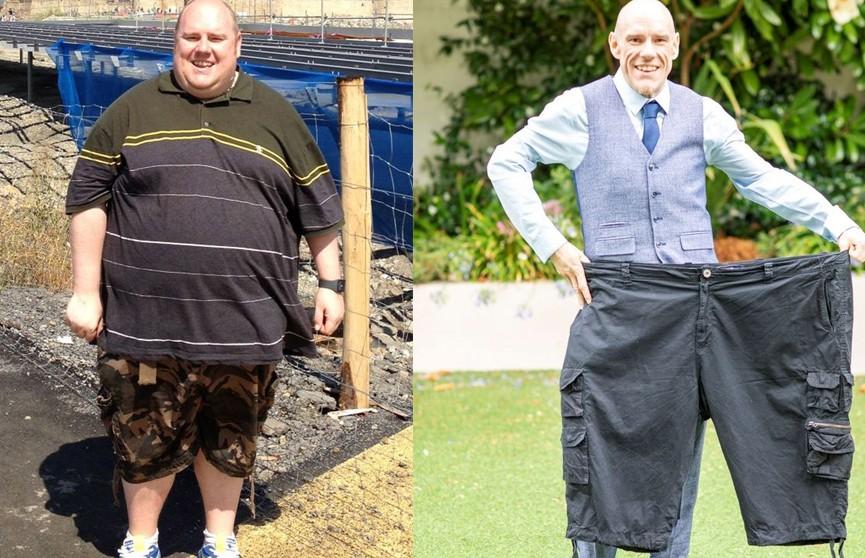 Британец сбросил около 100 кг ради мечты