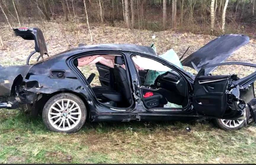 ДТП в Полоцком районе: стало известно, что пассажир злосчастного BMW находится в реанимации