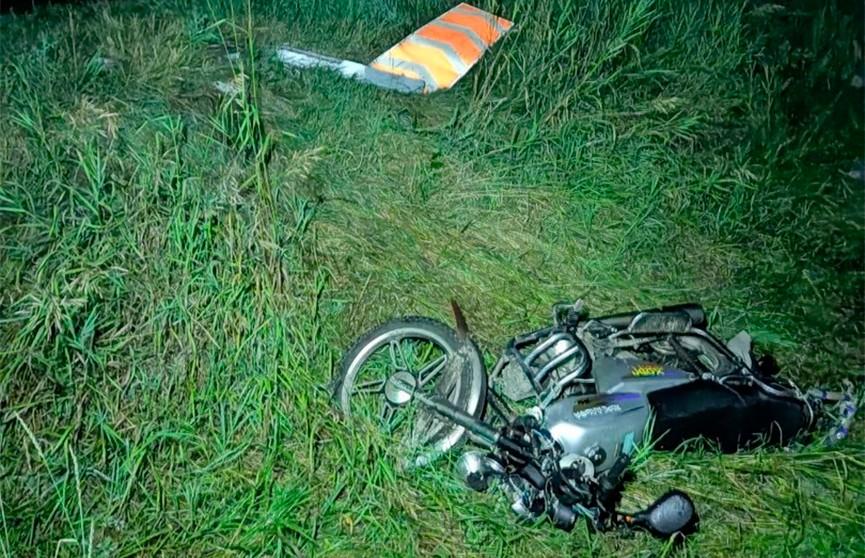 В деревне Кукличи мотоциклист-бесправник погиб в ДТП