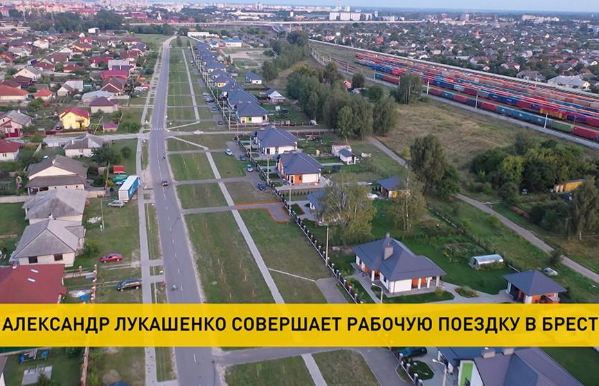 Лукашенко совершает рабочую поездку в Брест