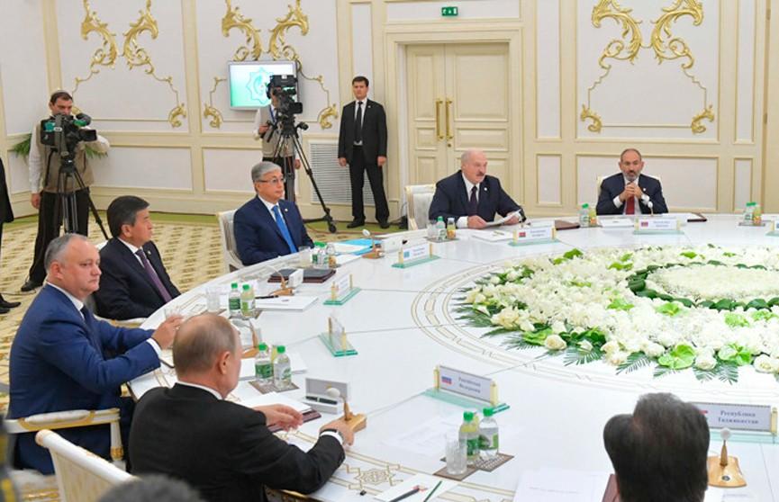 Лукашенко: Назрела необходимость укрепления СНГ как самодостаточного и эффективного объединения