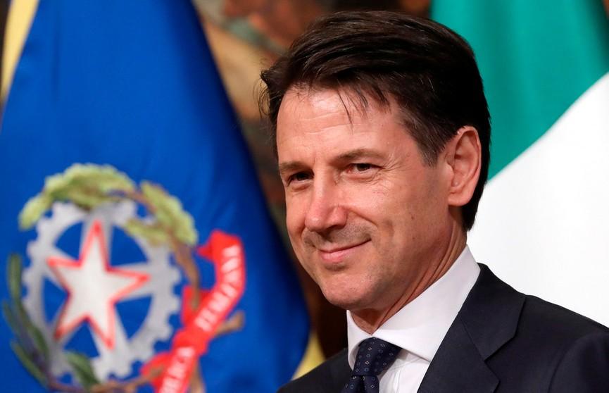 Президент Италии принял отставку премьер-министра Джузеппе Конте