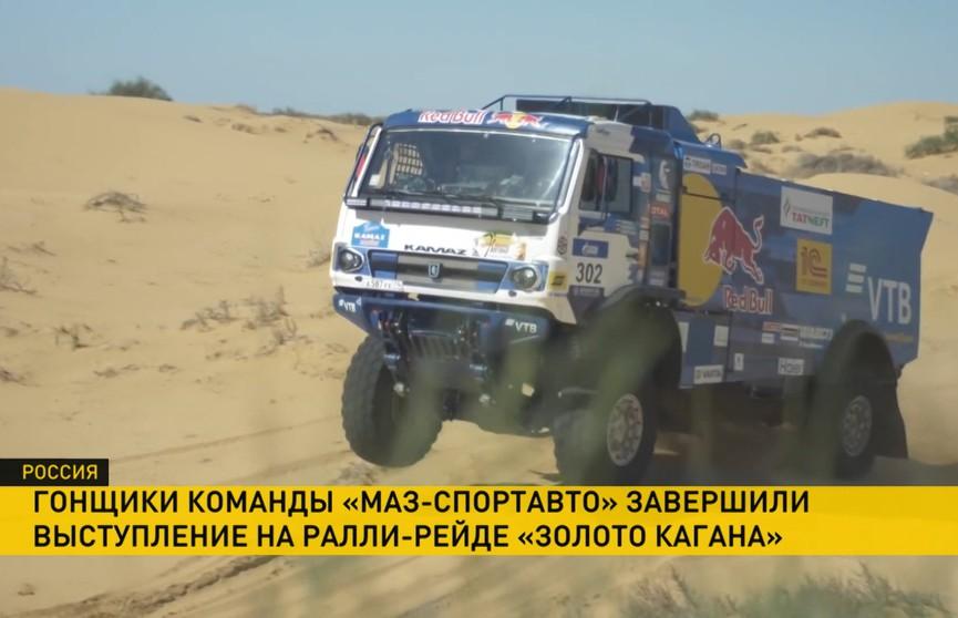 Ралли-рейд «Золотой Каган» завершился: экипаж из Беларуси вошел в список призеров