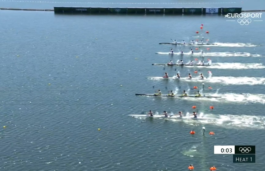 Белорусские гребцы вышли в полуфиналы сразу в трех видах программы Олимпиады