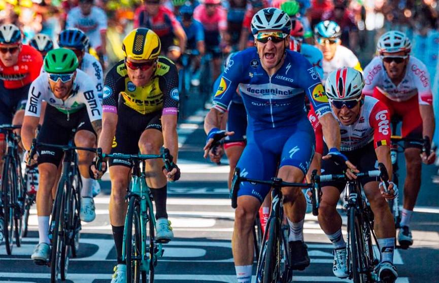 Элиа Вивиани выиграл четвертый этап велогонки «Тур де Франс»
