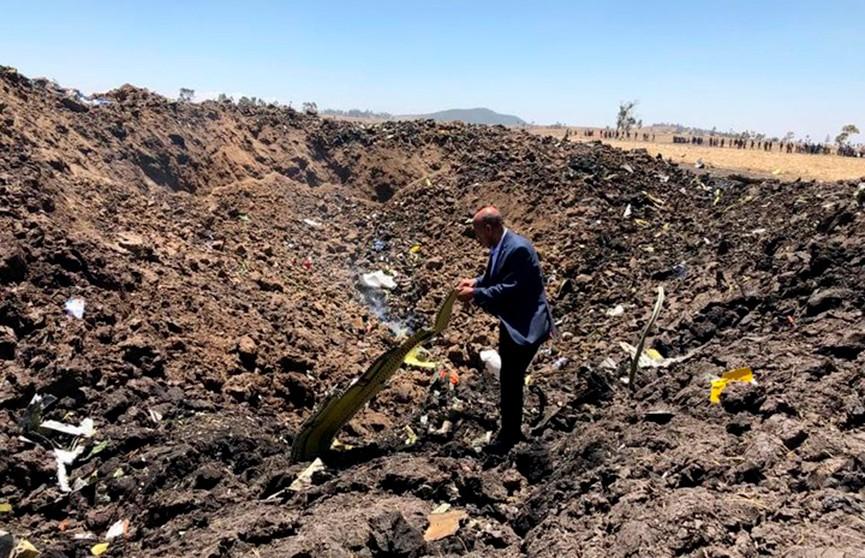 Пассажирский самолёт упал недалеко от столицы Эфиопии: подтверждена гибель 157 человек