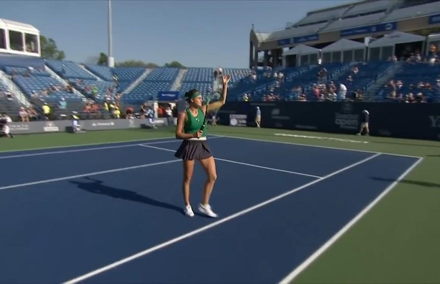 Арина Соболенко вышла в финал WTP в Нью-Хейвене