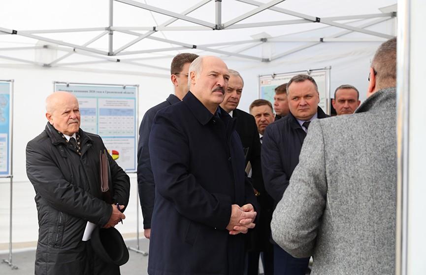 Рабочая поездка Президента в Лидский район: итоги