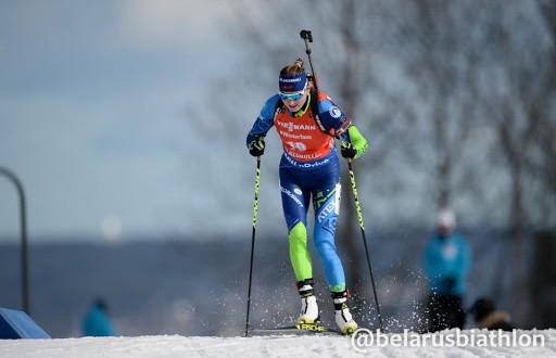 Динара Алимбекова показала лучший результат в карьере на первом этапе Кубка мира по биатлону