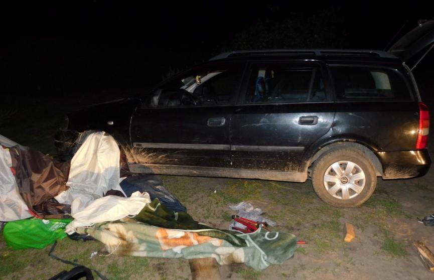 Автомобиль задавил мужчину в палатке в Ганцевичском районе