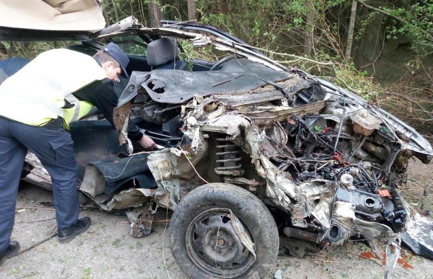 Пьяный водитель Audi устроил смертельное ДТП в Гродненском районе