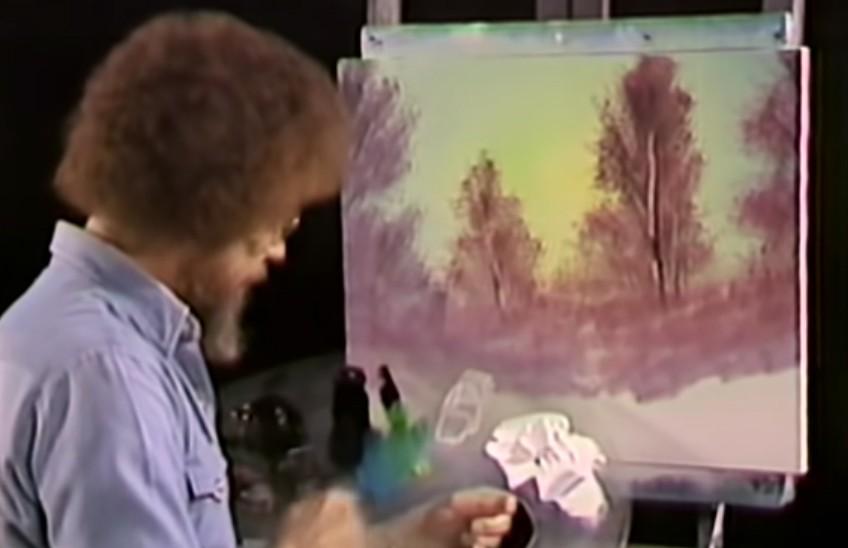 Для тех, кто не умеет, но хочет научится: архив шоу Боба Росса по рисованию появился в Сети