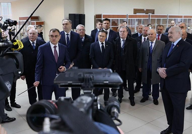 Лукашенко о запуске БелАЭС — это исторический момент