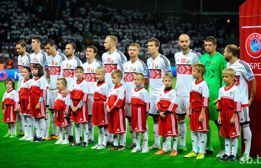 Сборная Беларуси сыграет с командой Грузии в плей-офф футбольной Лиги наций