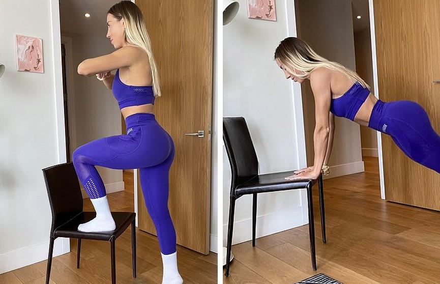 Популярный тренер раскрыла способ похудеть на карантине с помощью стула