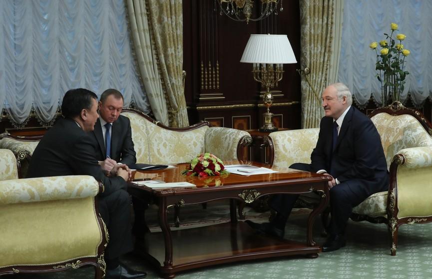 Александр Лукашенко: Минск и впредь останется надёжным партнёром для Бишкека