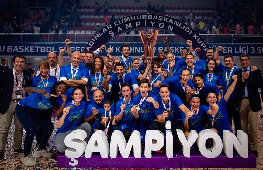Екатерина Снытина стала обладателем Кубка Турции по баскетболу в составе клуба «Хатай»