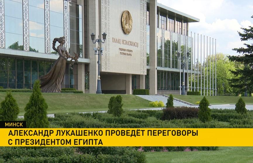 Минск-Каир: начались переговоры между Александром Лукашенко и президентом Египта Абдель Фаттахом Ас-Сиси