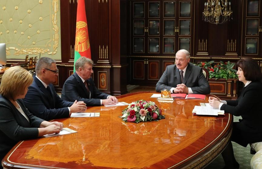 Президент согласовал кандидатуры на должности председателей Дубровенского и Мстиславского райисполкомов