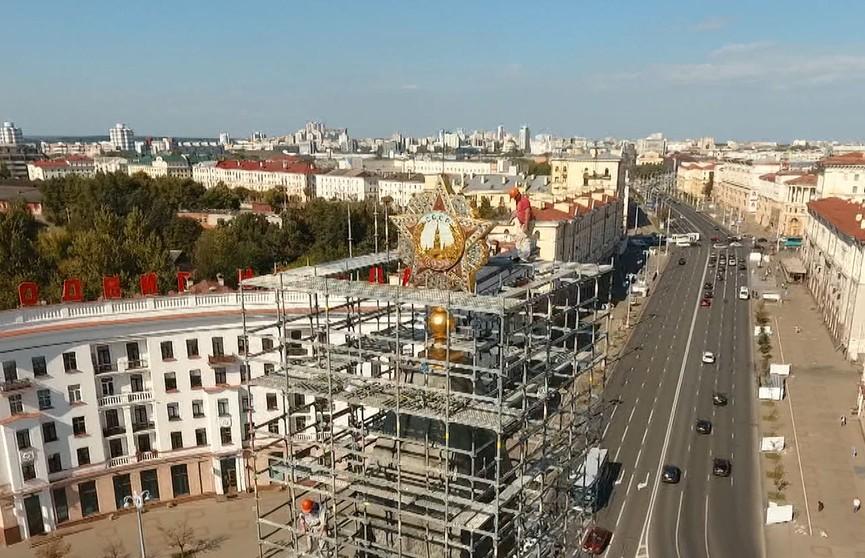 Масштабная реконструкция площади Победы проходит в Минске. Каким будет памятное место?