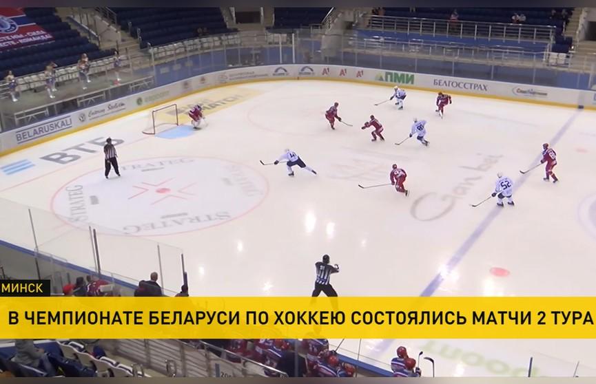 Чемпионат Беларуси по хоккею: минская «Юность» обыграла «Динамо-Молодечно»