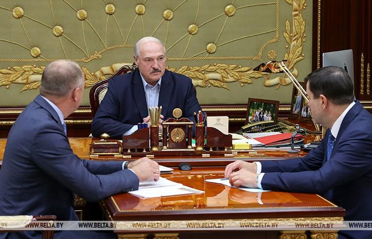 Лукашенко заслушал доклад по задержанным россиянам из ЧВК
