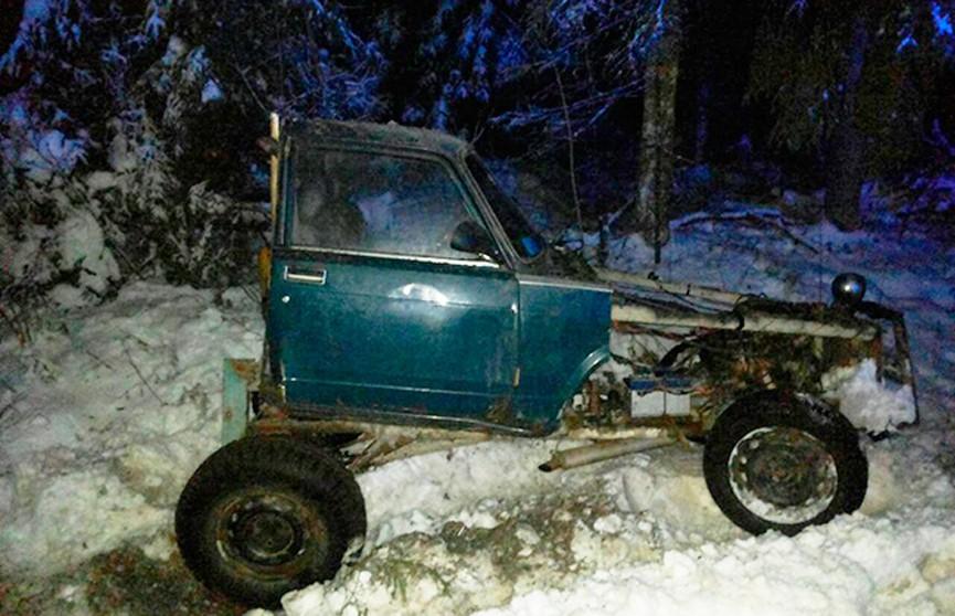 Двое нетрезвых парней ехали на самодельной машине на ёлку в новогоднюю ночь