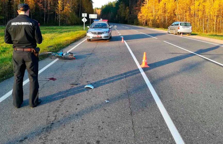 Легковушка насмерть сбила велосипедиста под Ивье