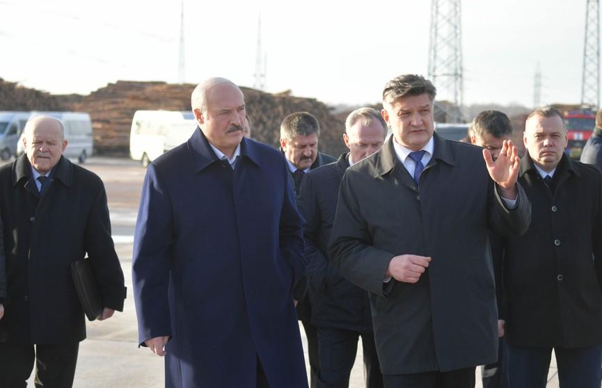 Лукашенко совершил рабочий визит в Светлогорск