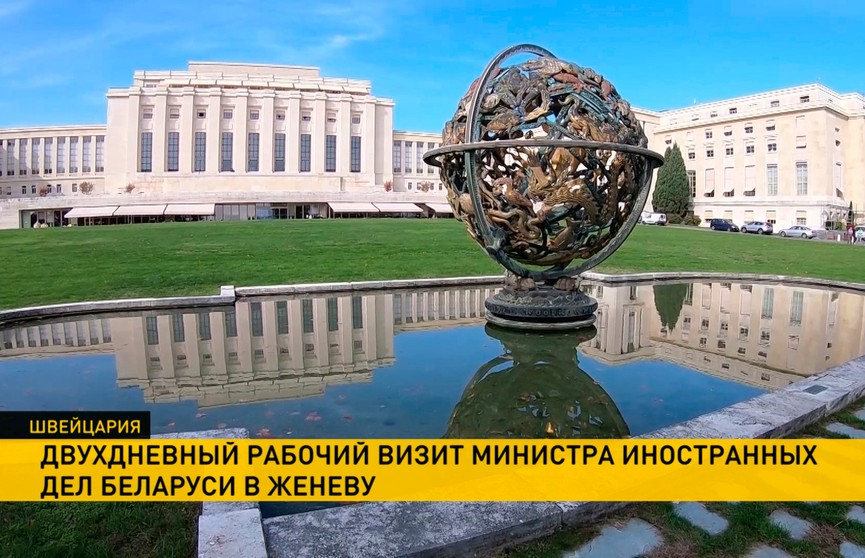 Женевские переговоры и заявления Макея в ООН. Подробности работы белорусской делегации в Швейцарии