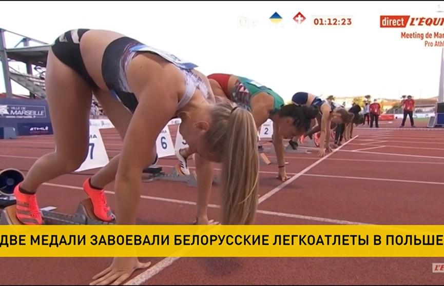Две медали завоевали белорусские легкоатлетки в Польше