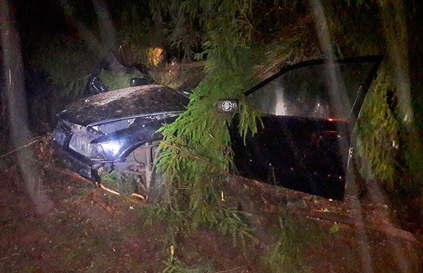 ДТП в Полоцком районе: погиб 17-летний пассажир