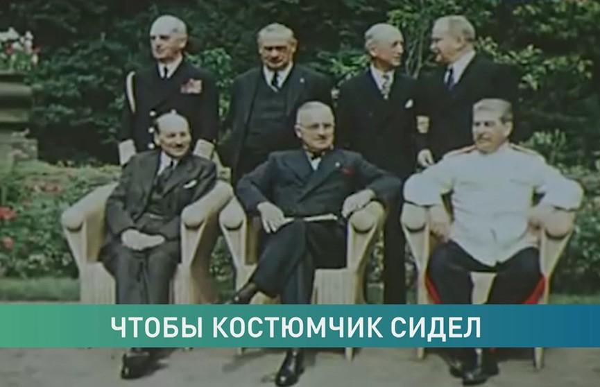 Один из парадных маршальских кителей Сталина хранится в Минске. Посмотрите, как выглядит