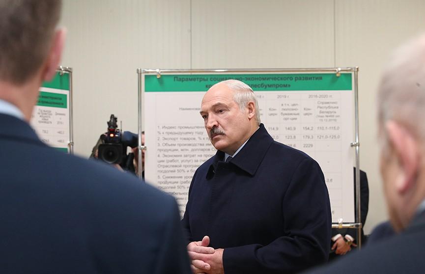 «Наручники – директору на стол!» Лукашенко посетил предприятия в Шклове. Чем остался недоволен Президент?