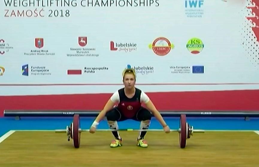 Анастасия Михаленко завоевала золото на молодёжном чемпионате Европы по тяжёлой атлетике