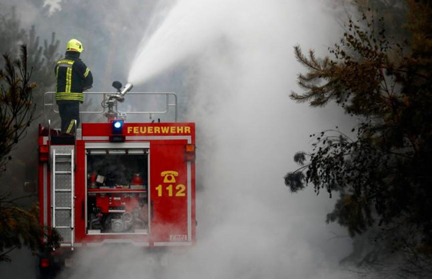Из-за жары окрестности Берлина охватили сильные пожары