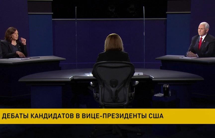 Дебаты кандидатов на пост вице-президента прошли в США