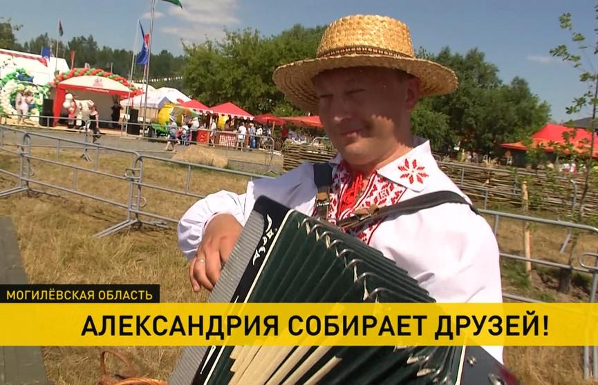 Народный фест в Александрии стирает границы и объединяет мастеров Беларуси, России и Украины