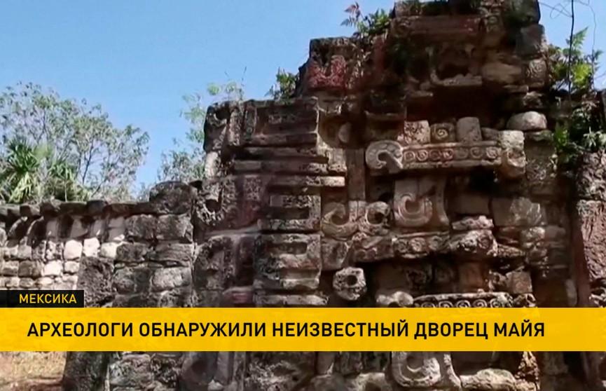 Дворец майя VII-X веков нашли археологи на Юкатане