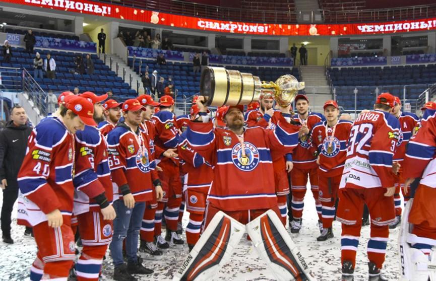 Минская «Юность» в девятый раз стала чемпионом Беларуси по хоккею