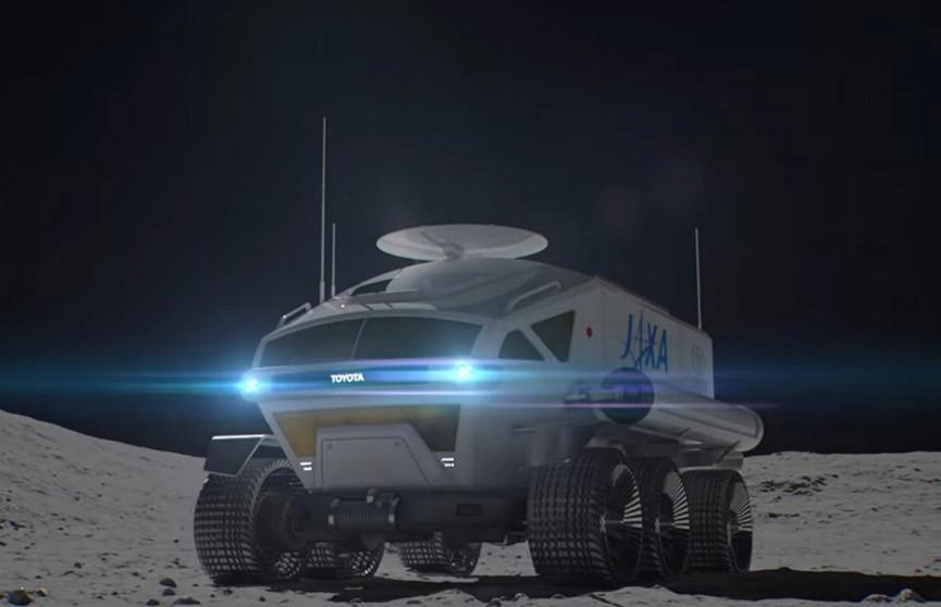 Toyota показала концепт пилотируемого лунохода (Видео)