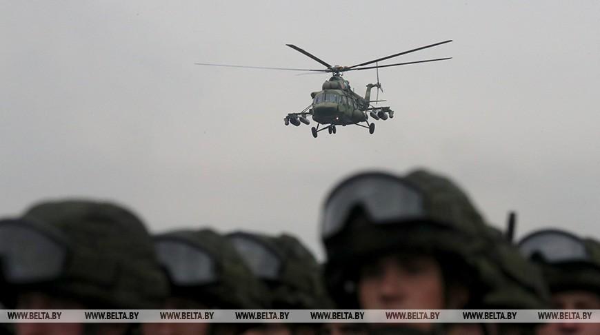 Лукашенко и Путин обсудили вопрос формирования единого оборонного пространства Беларуси и России