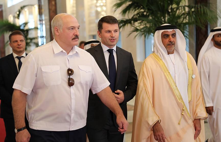 Лукашенко прибыл с визитом в Объединённые Арабские Эмираты