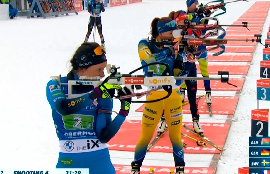 Назван состав женской сборной Беларуси по биатлону на первую гонку 7-го этапа Кубка мира