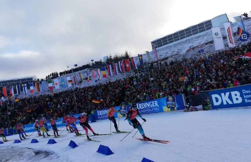 Белорусские биатлонисты попали в топ-5 эстафеты на этапе Кубка мира в Германии