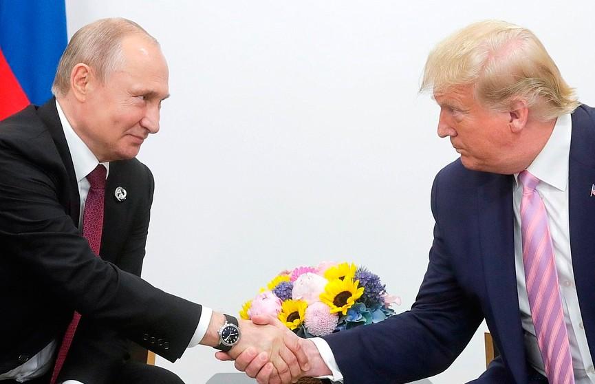 Путин и Трамп встретились в Осаке