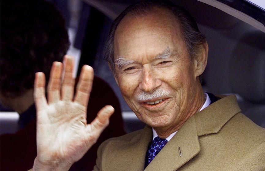 Великий герцог Люксембурга Жан скончался в возрасте 98 лет