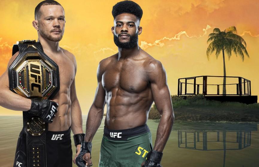 Алджамейн Стерлинг сенсационно победил Петра Яна на турнире UFC 259